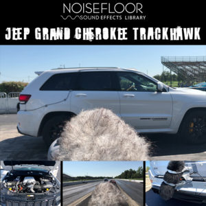 Jeep Grand Cherokee Trackhawk sound effects