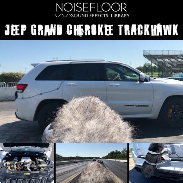Jeep Grand Cherokee Trackhawk sound effects