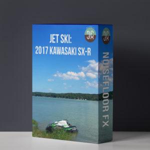 Jet Ski: 2017 Kawasaki SX-R Sound Effects Library