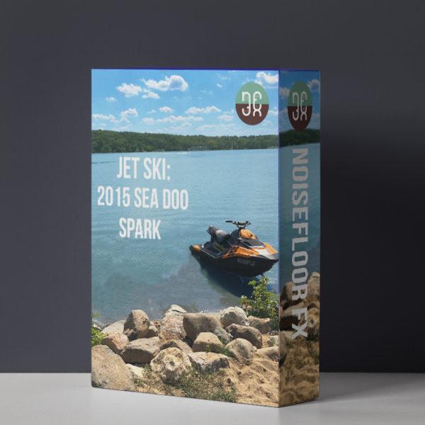 Jet Ski: 2015 Sea Doo Spark Sound Effects Library