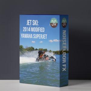 Jet Ski: 2014 Modified Yamaha Superjet Sound Effects Library